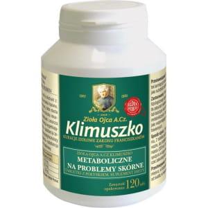 Tabletki ziołowe na choroby skóry - kuracja Ojca Klimuszko