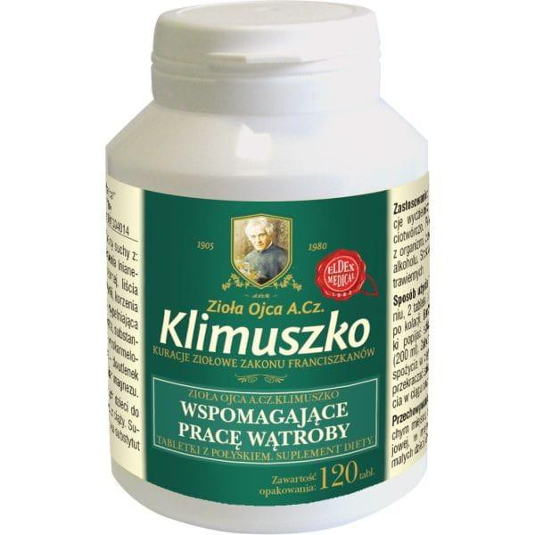Tabletki ziołowe na wątrobę
