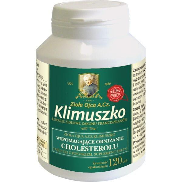 Tabletki ziołowe na cholesterol