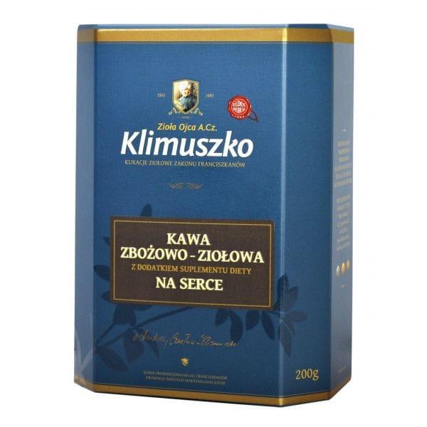 Kawa zbożowo-ziołowa na serce Ojca Klimuszko
