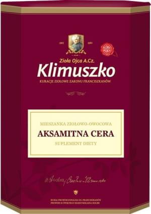 Herbata na aksamitną cerę - kuracje ziołowe Ojca Klimuszko