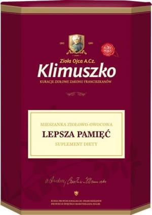 Herbata na pamięć i koncentrację - Zioła Ojca Klimuszko