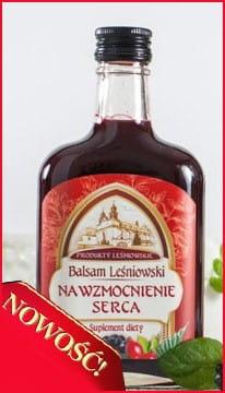 Balsam leśniowski na serce, 250 ml